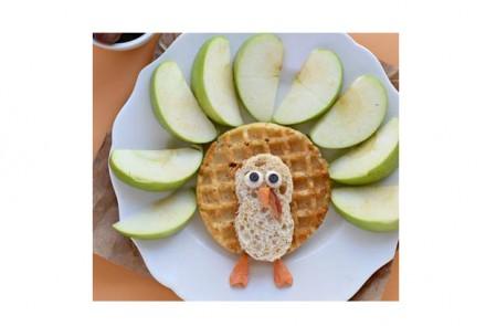Gluten-Free Waffle Breakfast