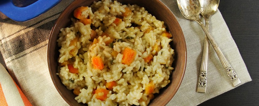 Pumpkin and Sage Risotto