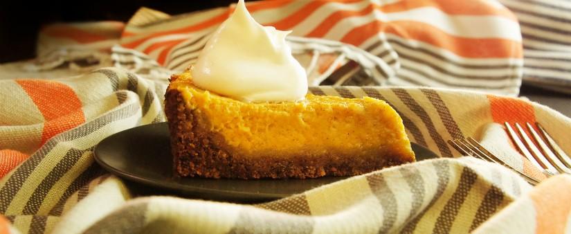 Gluten-Free Pumpkin Pie With Whipped Cream