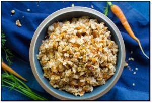 Gluten-Free Carrot Cake Oatmeal