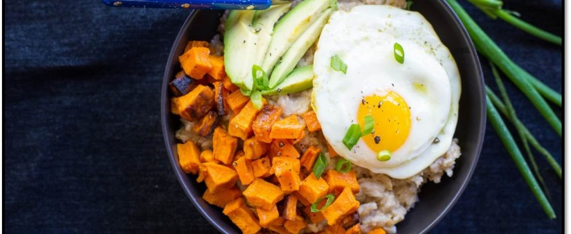 Savory Oatmeal Breakfast Bowls