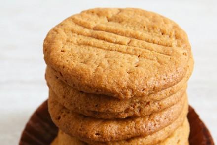 Four-Ingredient Gluten-Free Peanut Butter Cookies