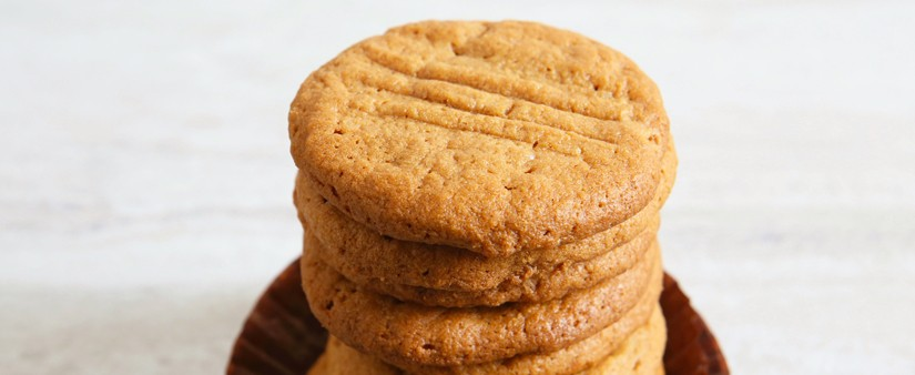 Four-Ingredient Gluten-Free Peanut Butter Cookies
