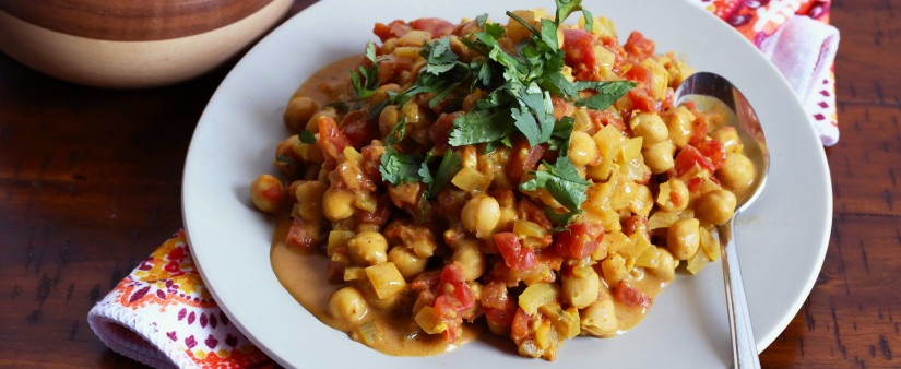 15-Minute Chickpea Dal