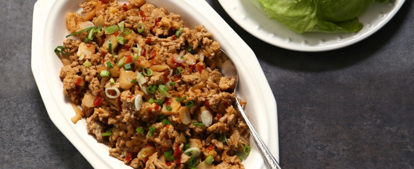 Better-Than-Takeout Chicken Lettuce Wraps