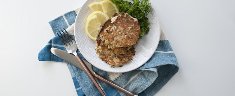 Nutty Gluten-Free Crab Cakes