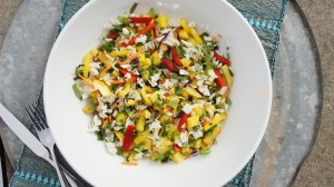 Senegalese-Inspired Rainbow Salad
