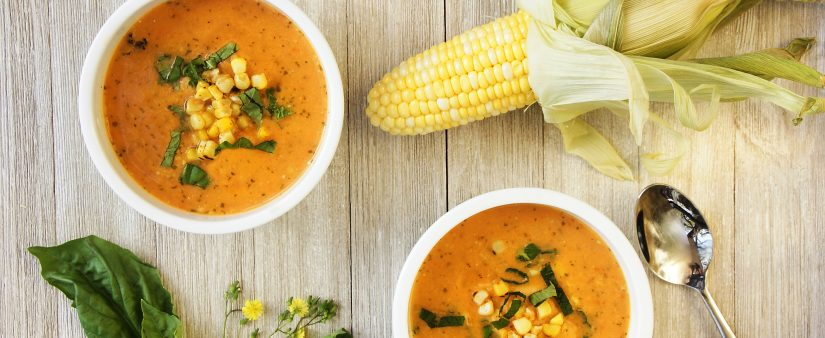 Cheap & Cheerful: Summer Corn and Heirloom Tomato Chowder