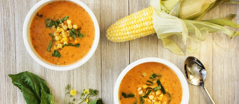 Cheap & Cheerful: Summer Corn and Heirloom Tomato Chowder