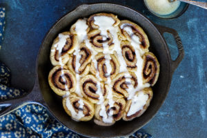 Gluten-Free Cinnamon Rolls with Cream Cheese Glaze
