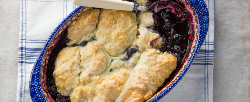 Gluten-Free Blueberry Cobbler