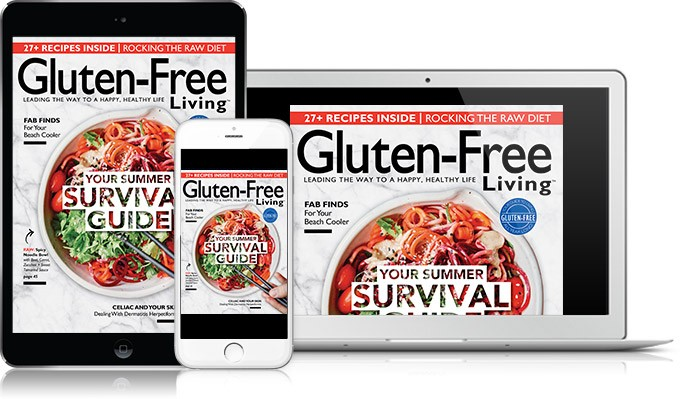 Subscribe to Gluten-Free Living Digital Edition