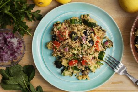 Cheap & Cheerful: Minty Mediterranean Salad