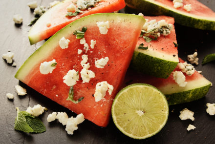 Cheap & Cheerful: Recipe for Watermelon with Feta, Mint and Lime Salsa