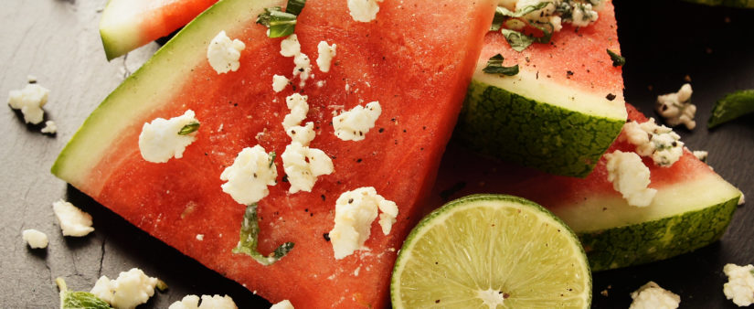 Cheap & Cheerful: Watermelon with Feta, Mint and Lime Salsa