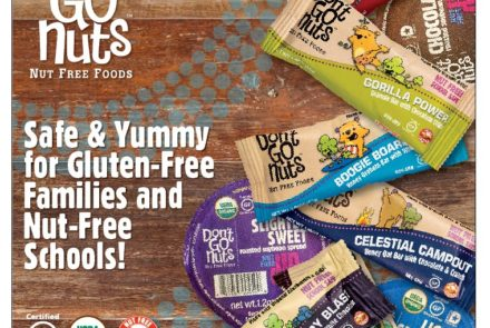 SPONSORED POST: Safe and Yummy Snacks for Gluten-Free Families and Nut-Free Schools
