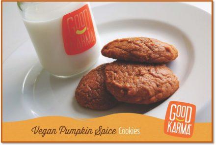 Vegan Gluten-Free Pumpkin Spice Cookies