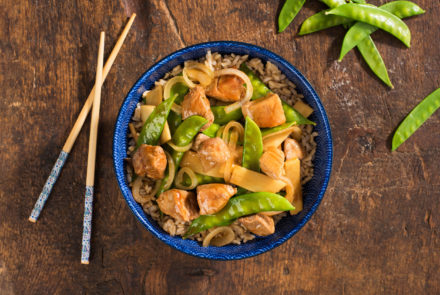 SPONSORED POST: Simple 3-Step Stir-fry with Gluten-free Asian Sauces