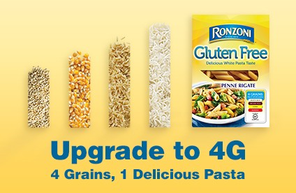 SPONSORED POST: Upgrade to 4G. 4 Grains, 1 Delicious Pasta.
