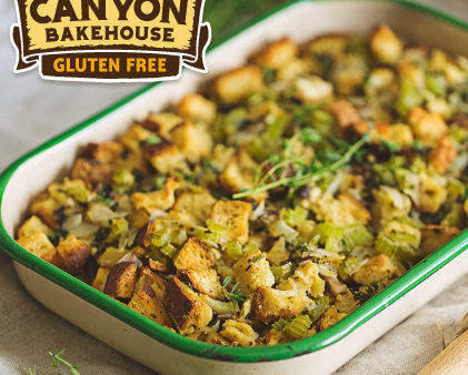 SPONSORED POST: Canyon Bakehouse Gluten-Free Stuffing Recipe
