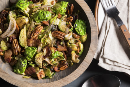 SPONSORED POST: Gluten-Free Brussels Sprouts Recipe from Green Chef