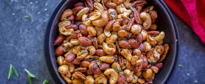 Maple Rosemary Mixed Nuts