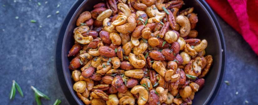 Maple Rosemary Mixed Nuts