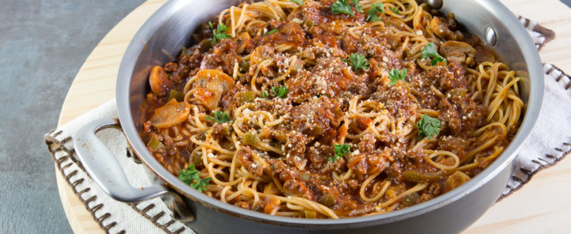 Easy Pasta and Meat Sauce