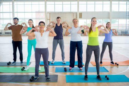 Get Into Group Fitness Classes