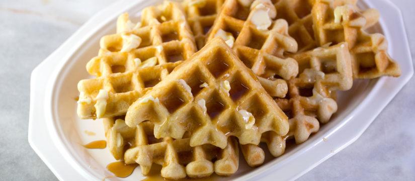No-Fail Weekend Waffles