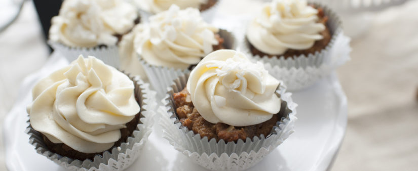 Almond Coconut Cupcakes