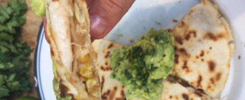 Kids' Kitchen: Triple-Decker Quesadillas