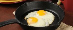 Fried Eggs (Oeufs sur la Plat)