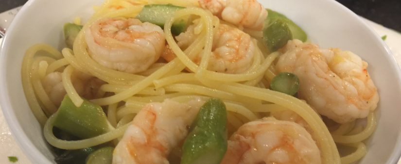 Kids' Kitchen: Lemon and Butter Shrimp Pasta