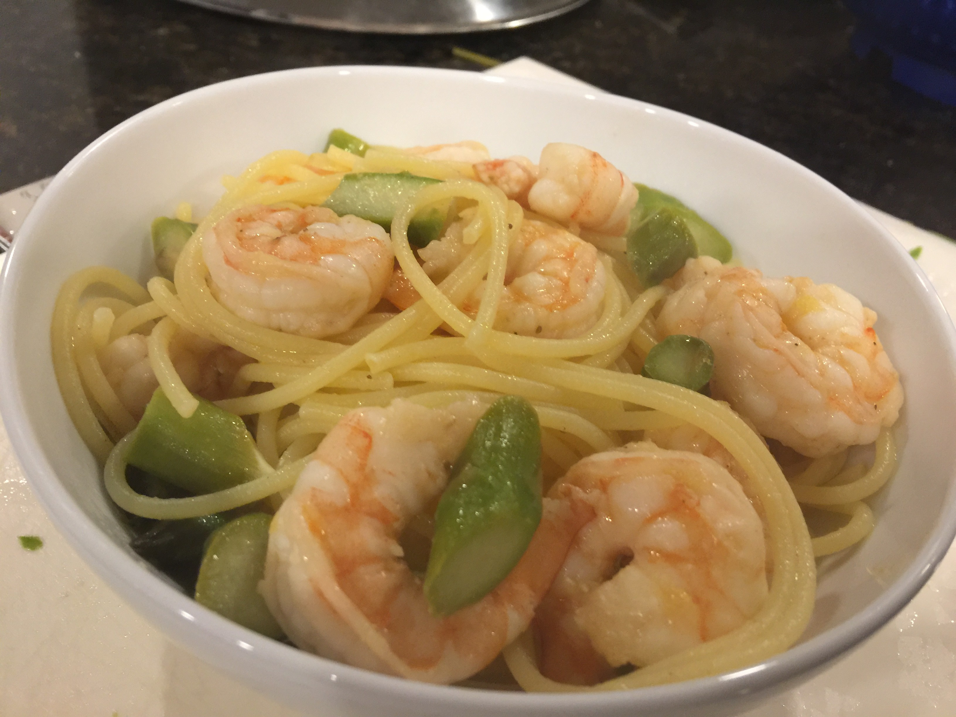 Lemon and Butter Shrimp