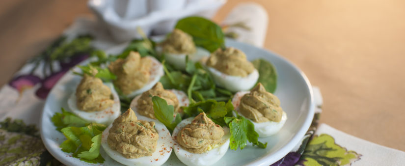 The Green Devil: Deviled Eggs With Avocado