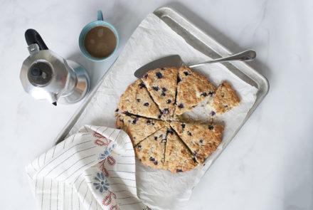 Blueberry, Lemon and Poppy Seed Scones