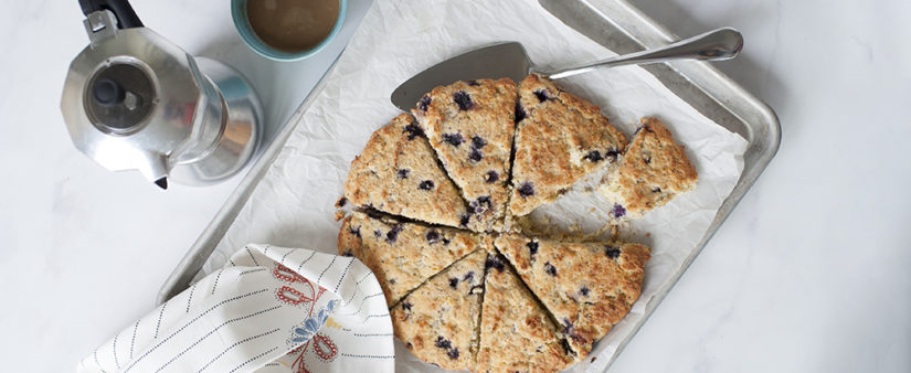 Blueberry, Lemon and Poppy Seed Scones