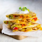 Gluten-Free Chicken Quesadillas