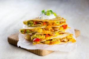 Gluten-Free Chicken Quesadillas