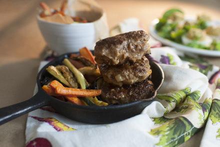 Savta's Mini Burgers