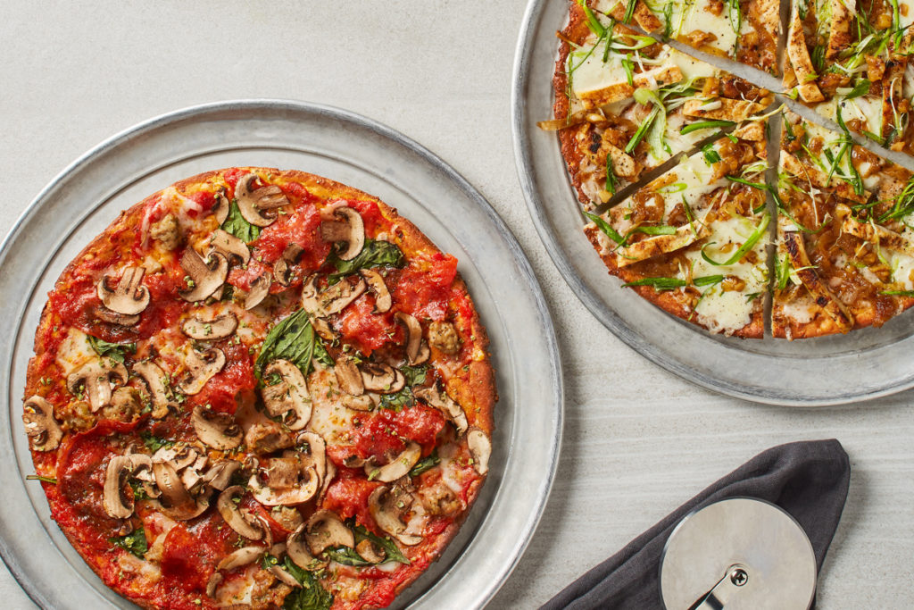 California Pizza Kitchen's Cauliflower Crust