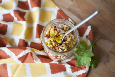 Corn and Pepper Salad