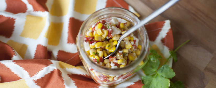 Corn and Pepper Salad