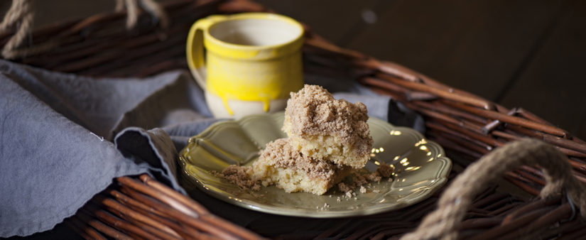Jersey Double-Crumb Cake