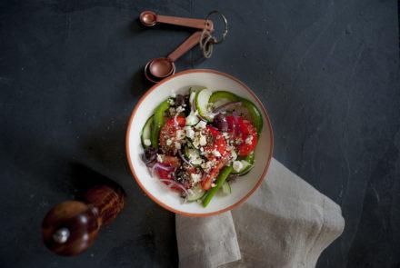 A Mediterranean Diet Menu