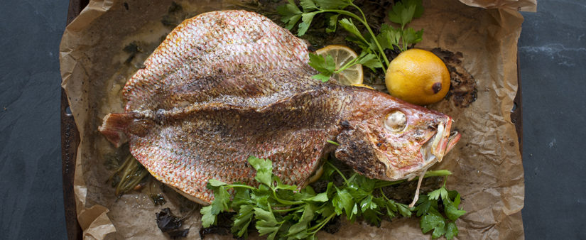 Mediterranean Roasted Whole Fish