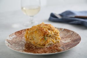 SPONSORED: Gluten Free Lasagna with Butternut Squash, Leeks & Brussels Sprouts