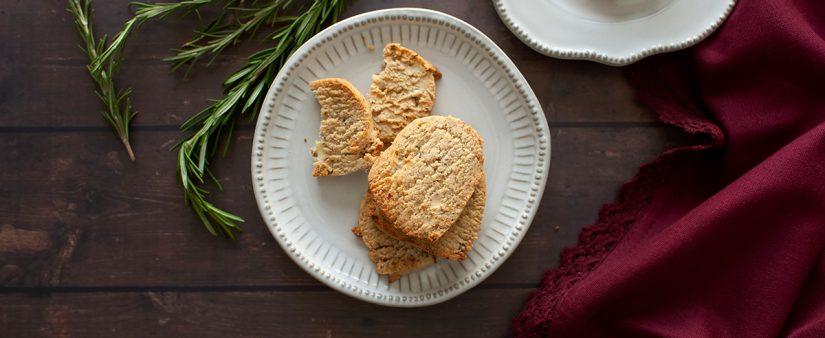 Savory Butter Shortbread Freezer Cookies