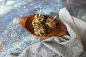 Spinach Sausage Balls